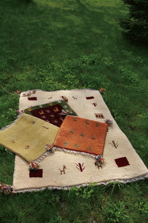 イランの手作りじゅうたんギャッベ画像1