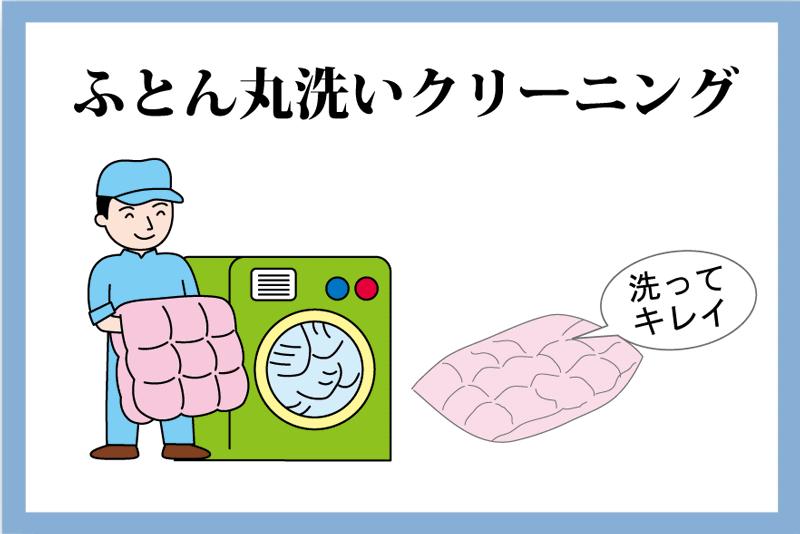 ふとん丸洗いクリーニング1