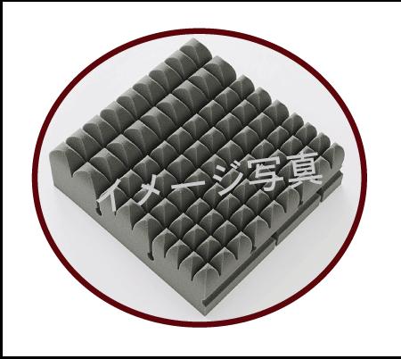 整圧マットレスⅡ3ブロック形状の違い